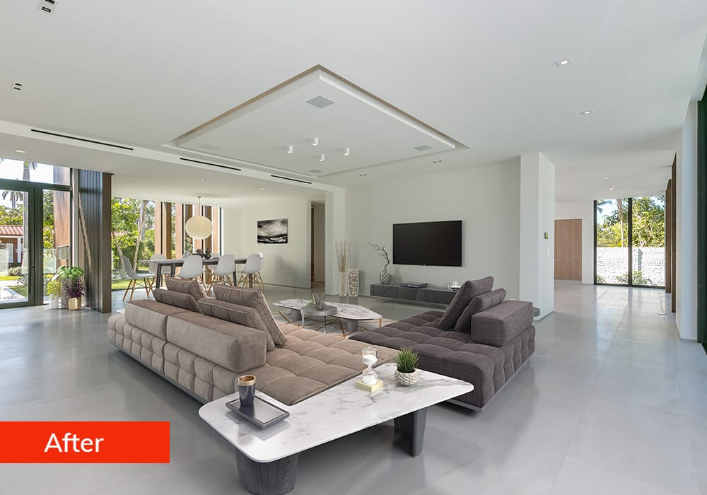 Picsera Virtual Staging Services After Example