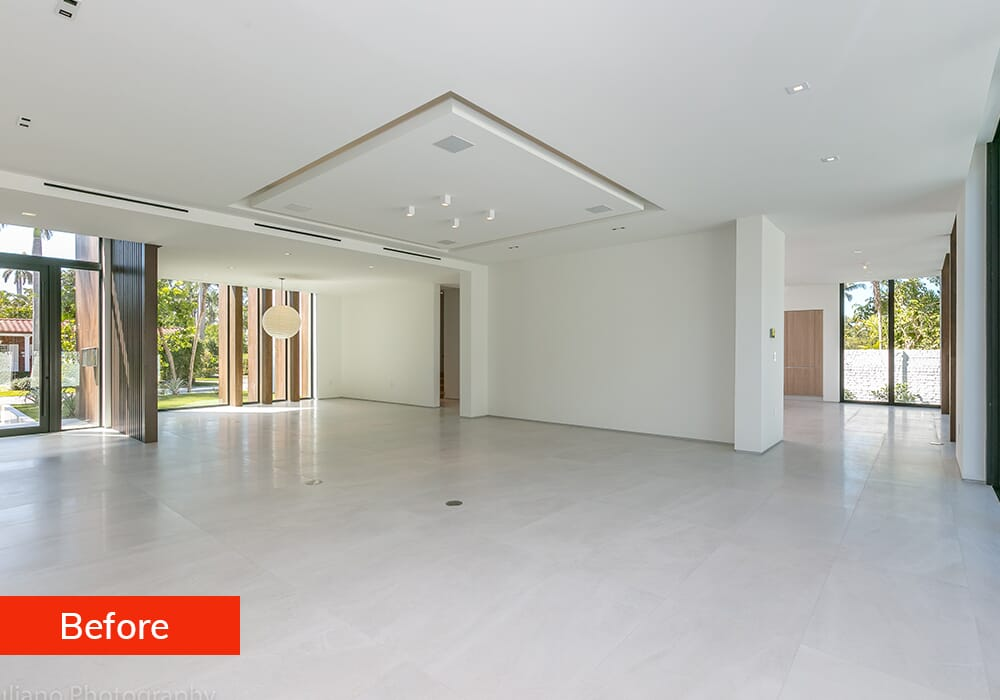 Picsera Virtual Staging Services Before Example