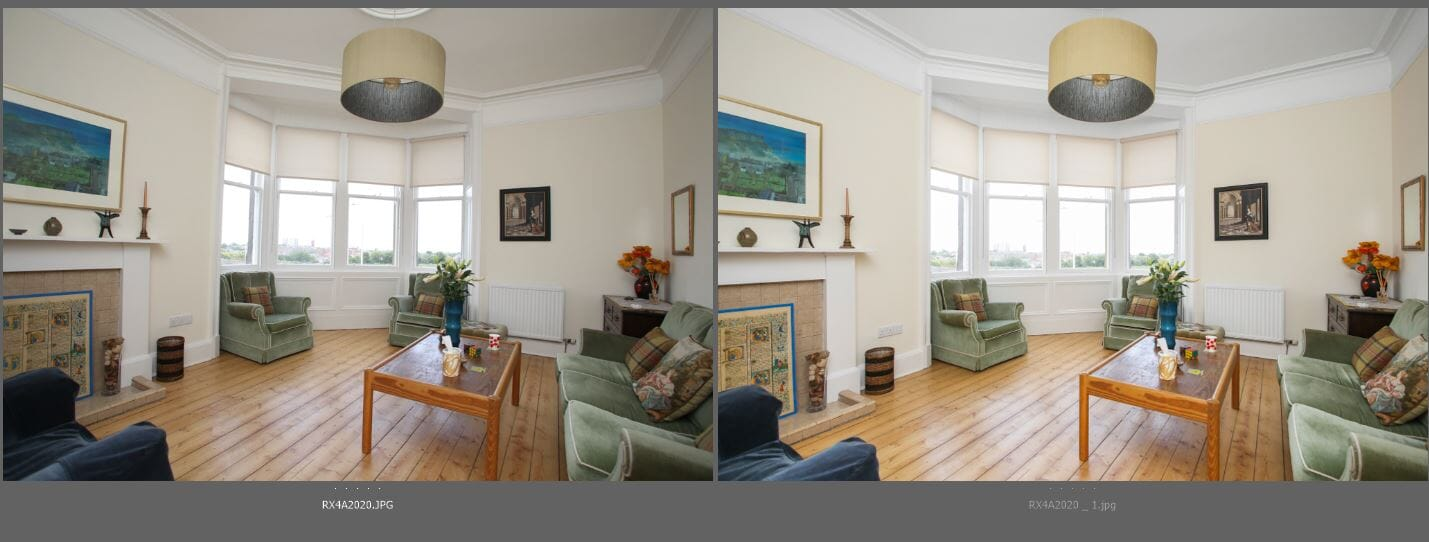 Picsera Real Estate Photo Editing Service - Color and Distortion Corrections 1